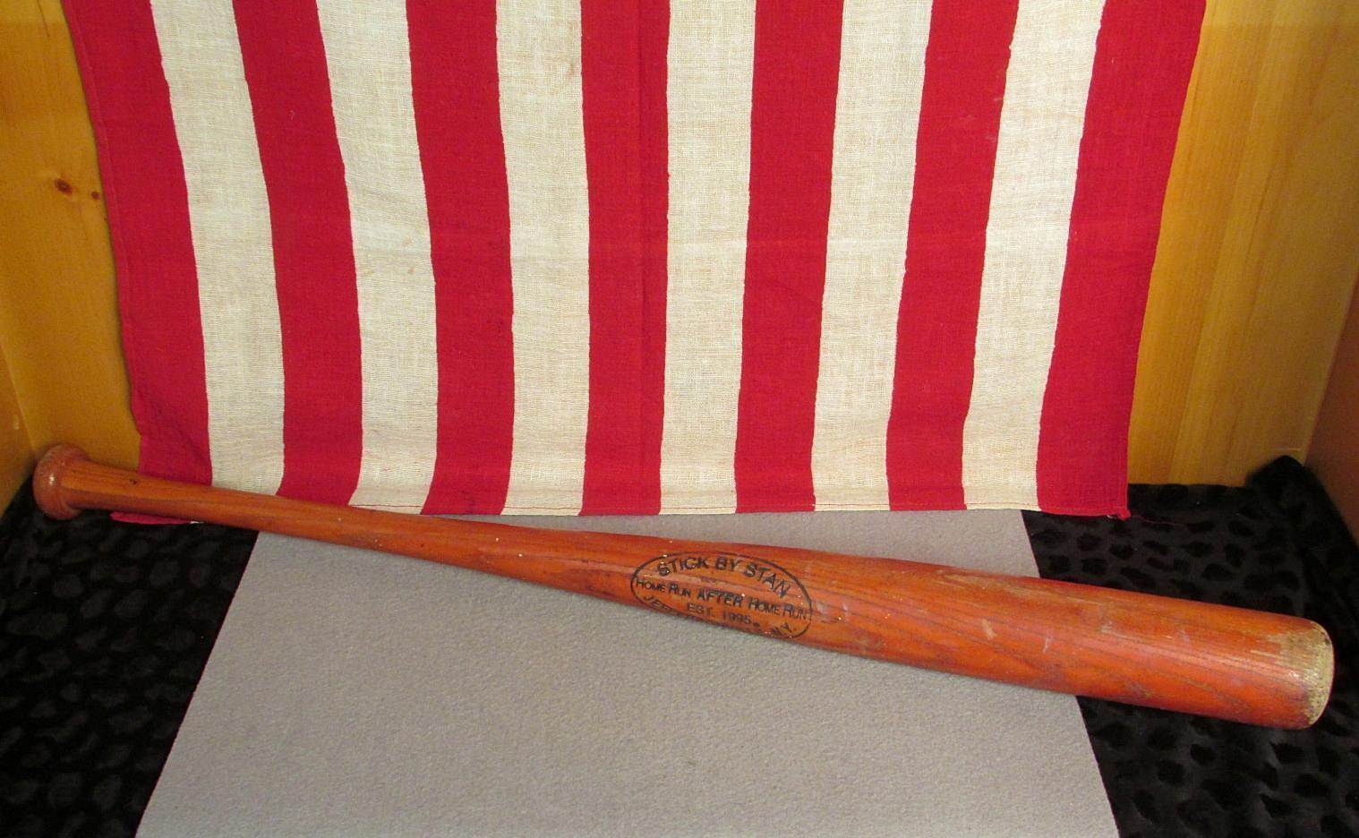 Vintage Stick por Stan Madera Bat de Béisbol Catskill Catskill Catskill Co. 29  Jeffersonville, Ny 7d993d