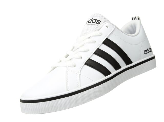 27d9a558087 adidas Neo Men s Pace VS Fashion SNEAKERS Shoes White Black Aw4594 ...