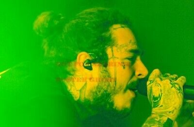 24 inch X 36 inch 3 POST MALONE Hollywood Celebrity Art Photo Poster