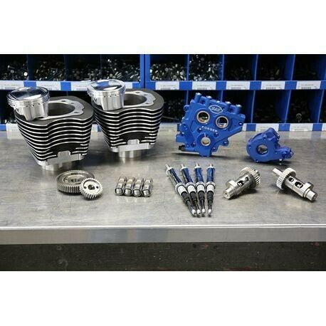 Gear Drive S/&S Cycle 330-0669 Power Package Black