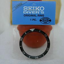 SEIKO BLACK BEZEL INSERT FOR MEN'S SIZE DIVER'S 7S26-0020 6309-7040 7002-7000