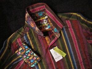 Lateran Xl multicolor Robert de Camisa 248 Graham de Msrp rayas oscuras wq0wHvx