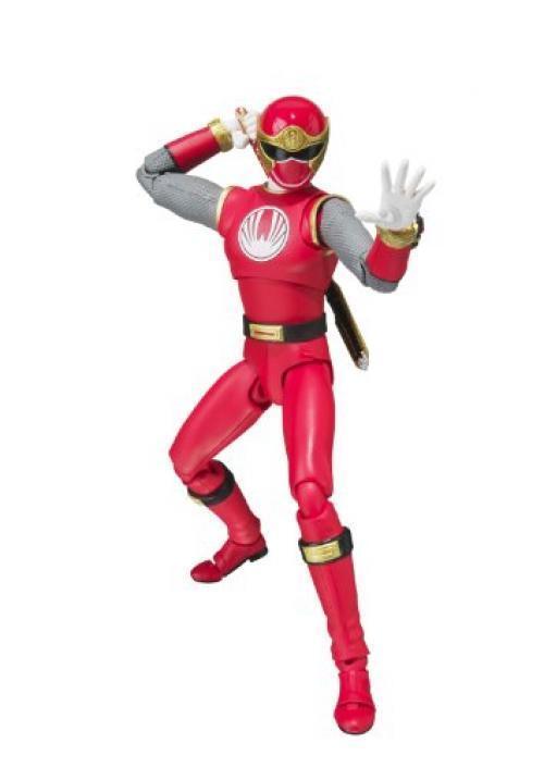 Nouveau S.H.Figurines Ninpuu Sentai Hurricaneger Ouragan Rouge Figurine