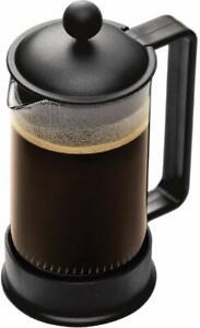 Bodum-1543-01US-Brazil-French-Press-Coffee-and-Tea-Maker-12-Ounce-Black