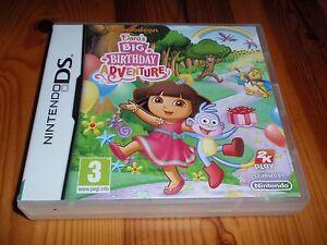 Dora-039-s-Big-Birthday-Adventure-for-Nintendo-DS-Lite-DSi-amp-3DS