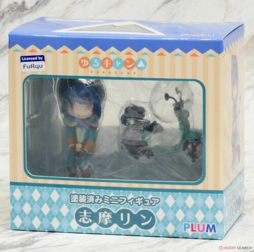 Yuru Camp Mini Figure Rin Shima Height approx 70mm PVC Pre-painted Completed Fig