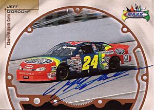 Jeff-Gordon-Autograph-Signed-1999-Maxx-NASCAR-Champion-Card