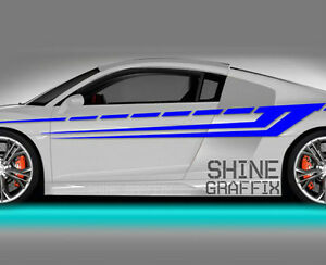 Vinyl Body GRAPHICS Stripes Car Truck Sticker Decal Race - Car side decals designpopular sport car graphicsbuy cheap sport car graphics lots from