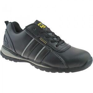 Hombre Seguridad Ligero Zapatillas Zapato De Trabajo Puntera De Acero