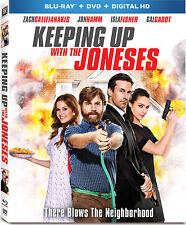 Keeping Up With the Joneses Blu-ray/DVD, 2017, 2-Disc Set, Includes Digital Copy