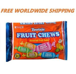 Tootsie-Fruit-Chews-Assorted-Fruit-Rolls-Candy-11-5-Oz-FREE-WORLDWIDE-SHIPPING