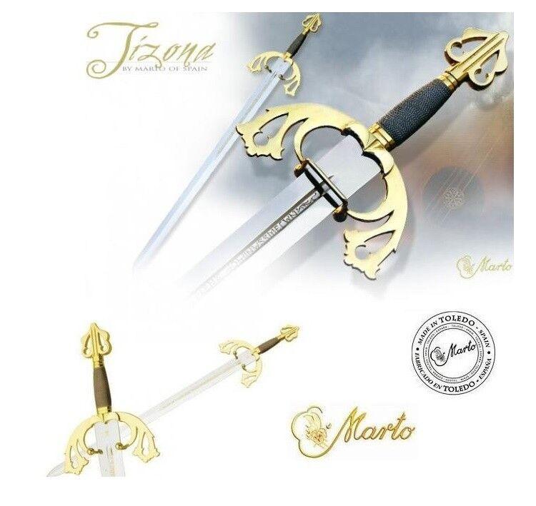 Official Marto of Toledo Spain Collectors Item. Deluxe El Cid Tizona Sword