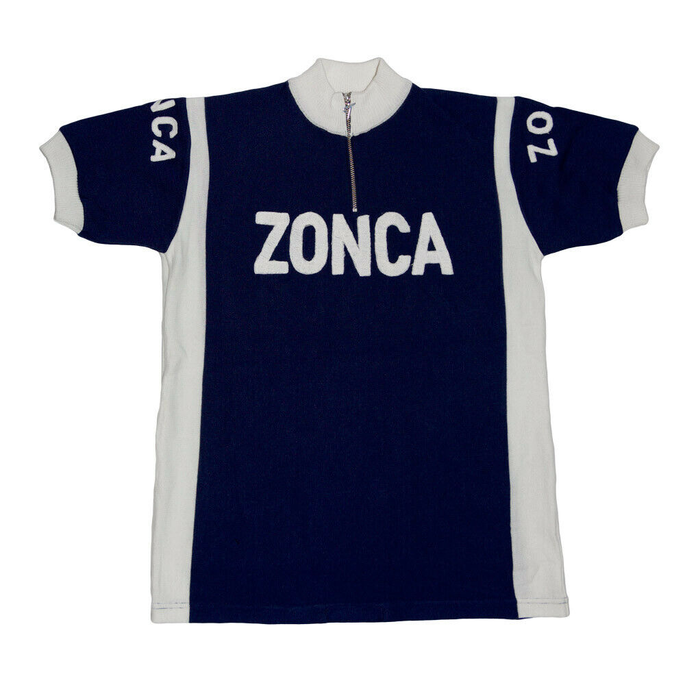 MAGLIA ZONCA Ciclismo Vintage Cycle Bike Jersey Made in