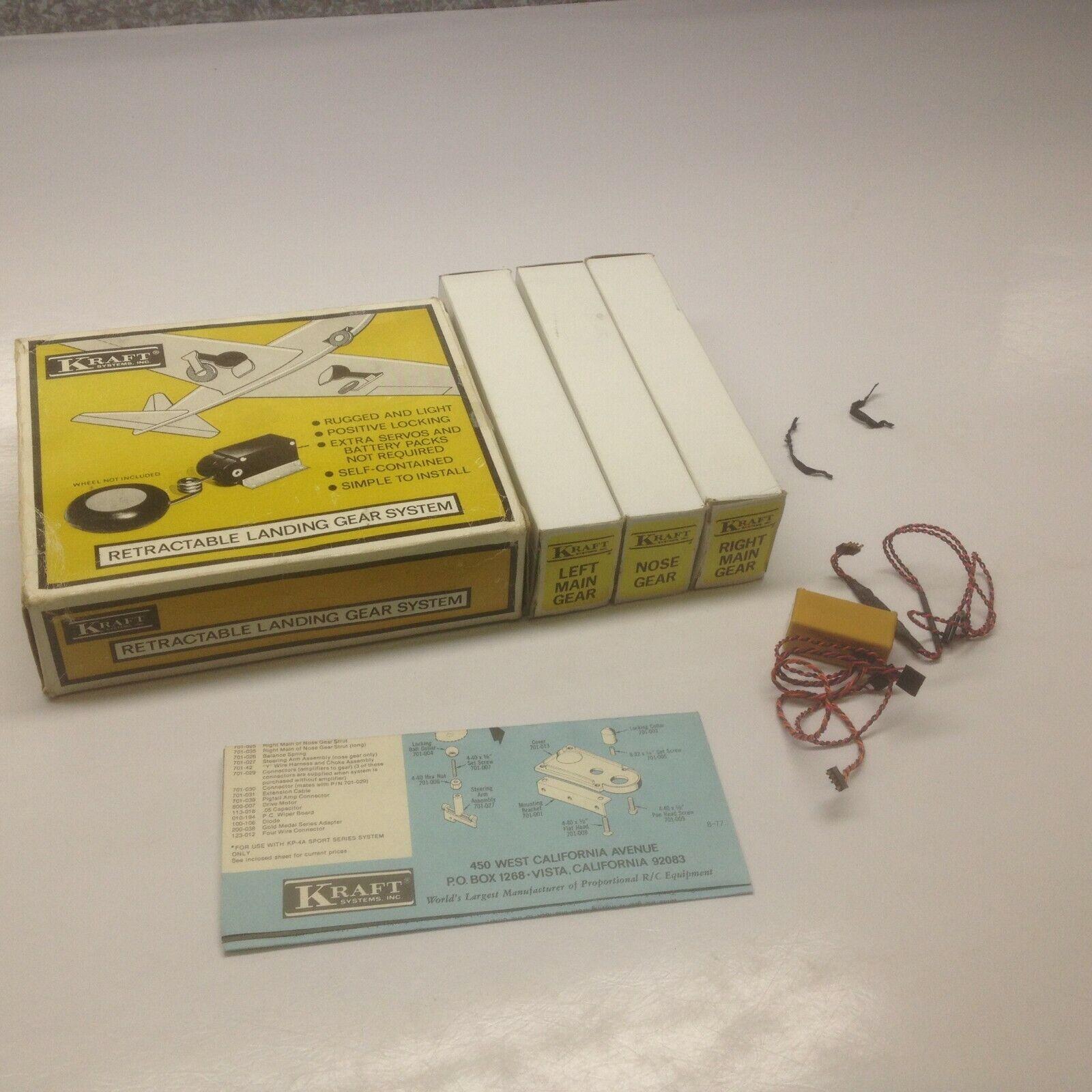 Vintage  KRAFT Retractable Leing Gear System for RC Airplane  presentando tutte le ultime tendenze della moda