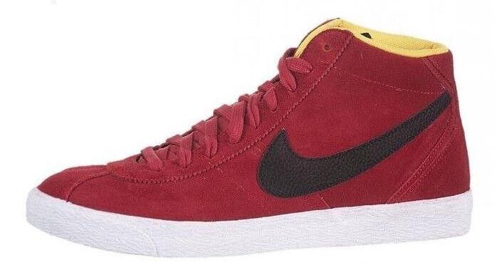 Nike Bruin mid High alta alta High nuevo gr:43 us:9, 5 rojo Rojo vintage retro cortos 03a83f