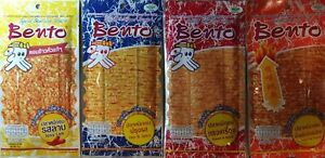 BENTO-snacks-from-the-sea-delicious-squid-Seafood-Thai-Snack-have-4-Flavor