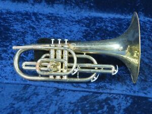 *** Dynasty Iii F Mellophone Forte Ser#680428 Player With Quick Valves ***-afficher Le Titre D'origine Technologies SophistiquéEs