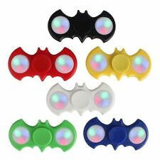 LED Light UP Batman Fidget Hand Spinner <Free & Fast USA Ship>