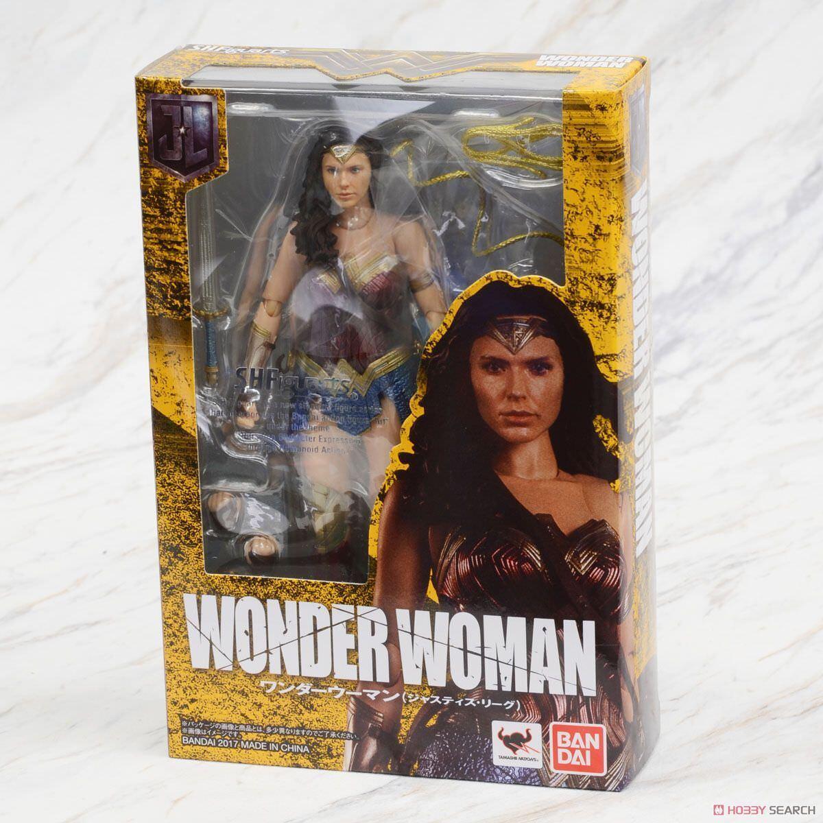 DC Justice League Wonder Woman Mädel Gadot S.H.Figuarts Bandai Tamashii Figure