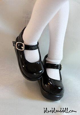 1//4 bjd MSD MDD minifee girl doll black color flat shoes dollfie dream ship US