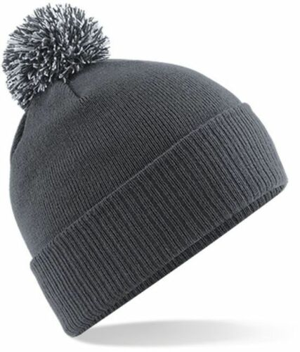MENS WOMENS SLOUCH TURN UP WARM KNITTED OVERSIZED BEANIE HAT BRAND NEW