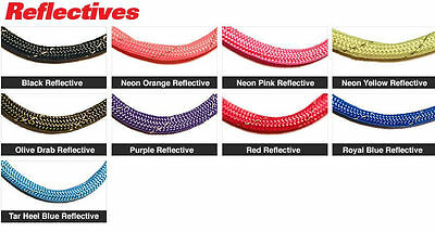 Parachute Cord 550 Paracord Mil Spec Type III 7 Strand Reflective Strands 100ft