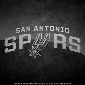 Image Is Loading NEW San Antonio Spurs Logo Vinyl Decal Sticker