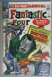 Fantastic-Four-Annual-2-1964-Origin-of-Doctor-Doom-Stan-Lee-Jack-Kirby-Marvel