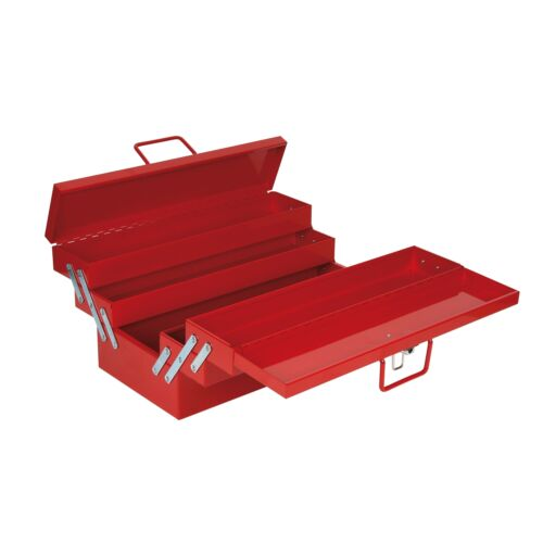 1  Or 5 Tray Sidchrome LOCKABLE CANTILEVER TOOL BOX,Powder Coated RED*AUS Brand