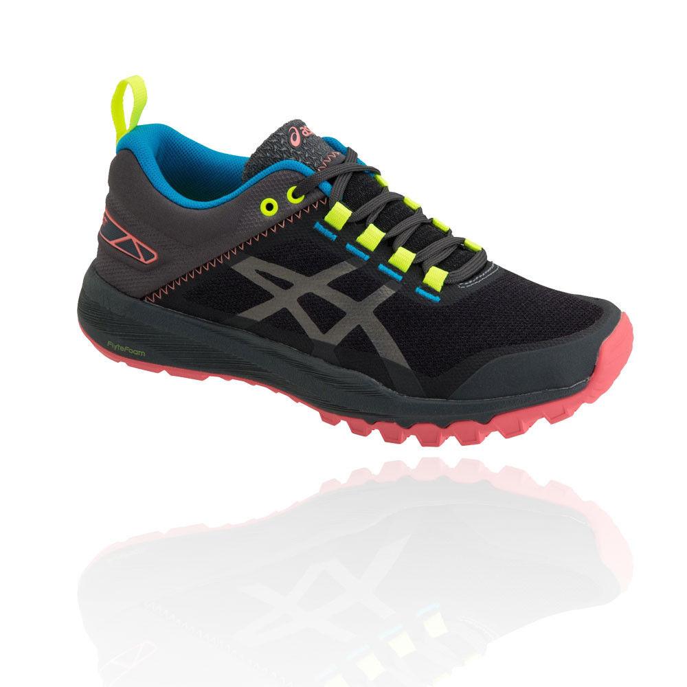 Asics Mujer Fujilyte Xt Sendero Correr Zapatos  Zapatillas Negro Deporte  echa un vistazo a los más baratos