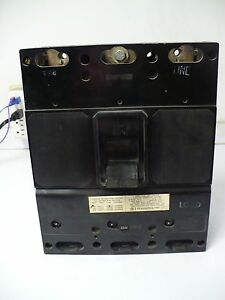 Siemens ITE Circuit Breaker JL3-F400 with 225 Amp Trip JL3-T225 *USED
