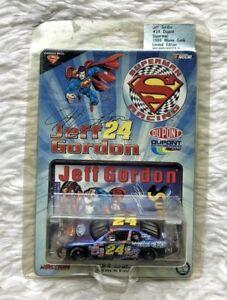 1999-JEFF-GORDON-1-64-SCALE-Diecast-ACTION-DuPont-Superman-Car-New