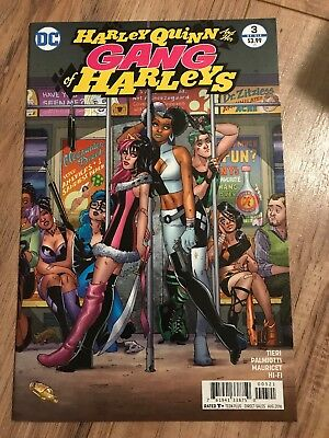 Harley Quinn and Her Gang of Harleys #3A NM 2016 Stock Image
