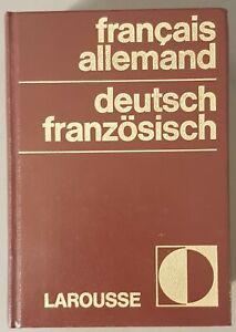 Dictionnaire Francais Allemand Larousse 1976 Langue Ebay