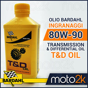 OLIO-TRASMISSIONE-E-INGRANAGGI-BARDAHL-T-amp-D-80W90-AUTO-MOTO-SCOOTER