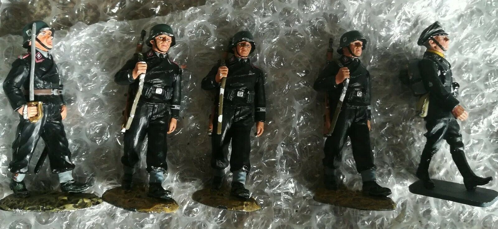 Iron Sky Production Used King And Country Country SS Figures With COA
