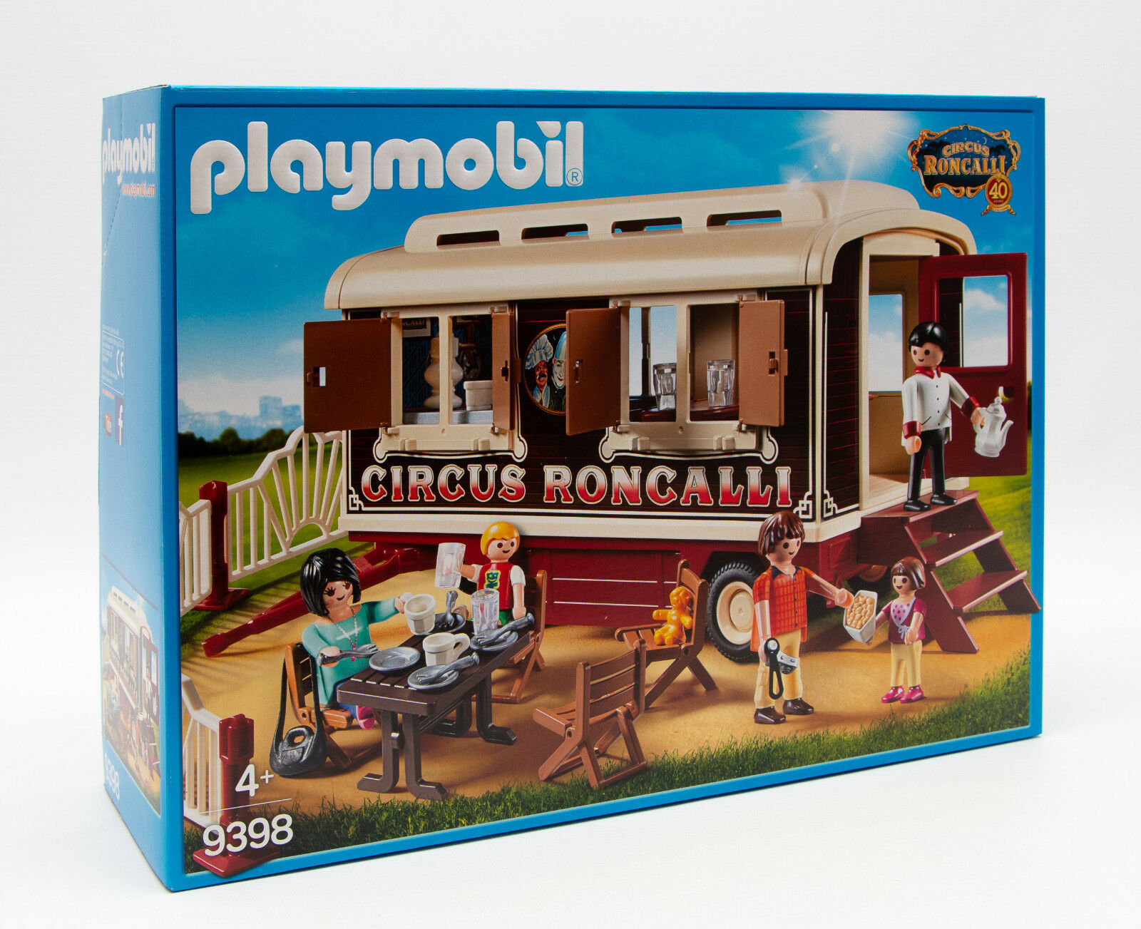 Playmobil 9398 Exklusiv Circus Roncalli Wohnwagen mit Figuren NEU / OVP