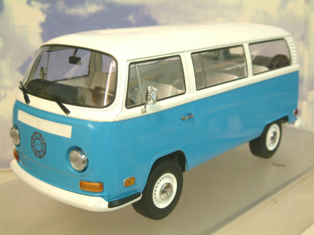 1/18 GREENLIGHT 1971 VW Volkswagen TYPE 2 (T2B) Micro Bus Microbus PERSO #19011