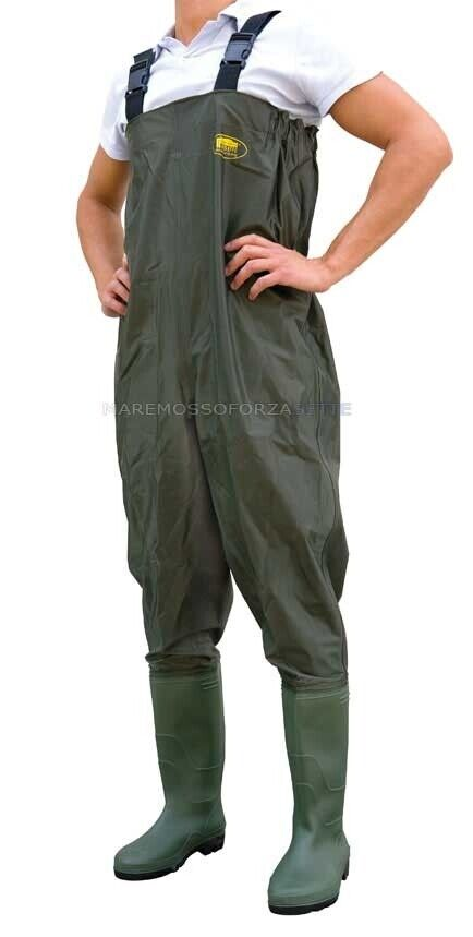 STIVALE SCAFeRO WADERS IN POLYESTERE Dimensione 43 POLYESTER CHEST WADER