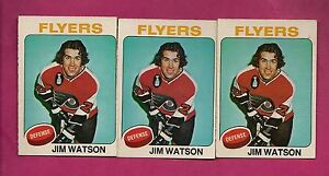 3-X-1975-76-OPC-202-FLYERS-JIM-WATSON-CARD-INV-A586