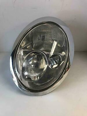 Classic Austin Mini Headlamp Headlight Assembly Wi