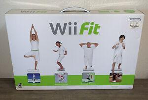 Nintendo Wii Fit Bundle Game and Balance Board Original Box & Manual (Wii, 2008)
