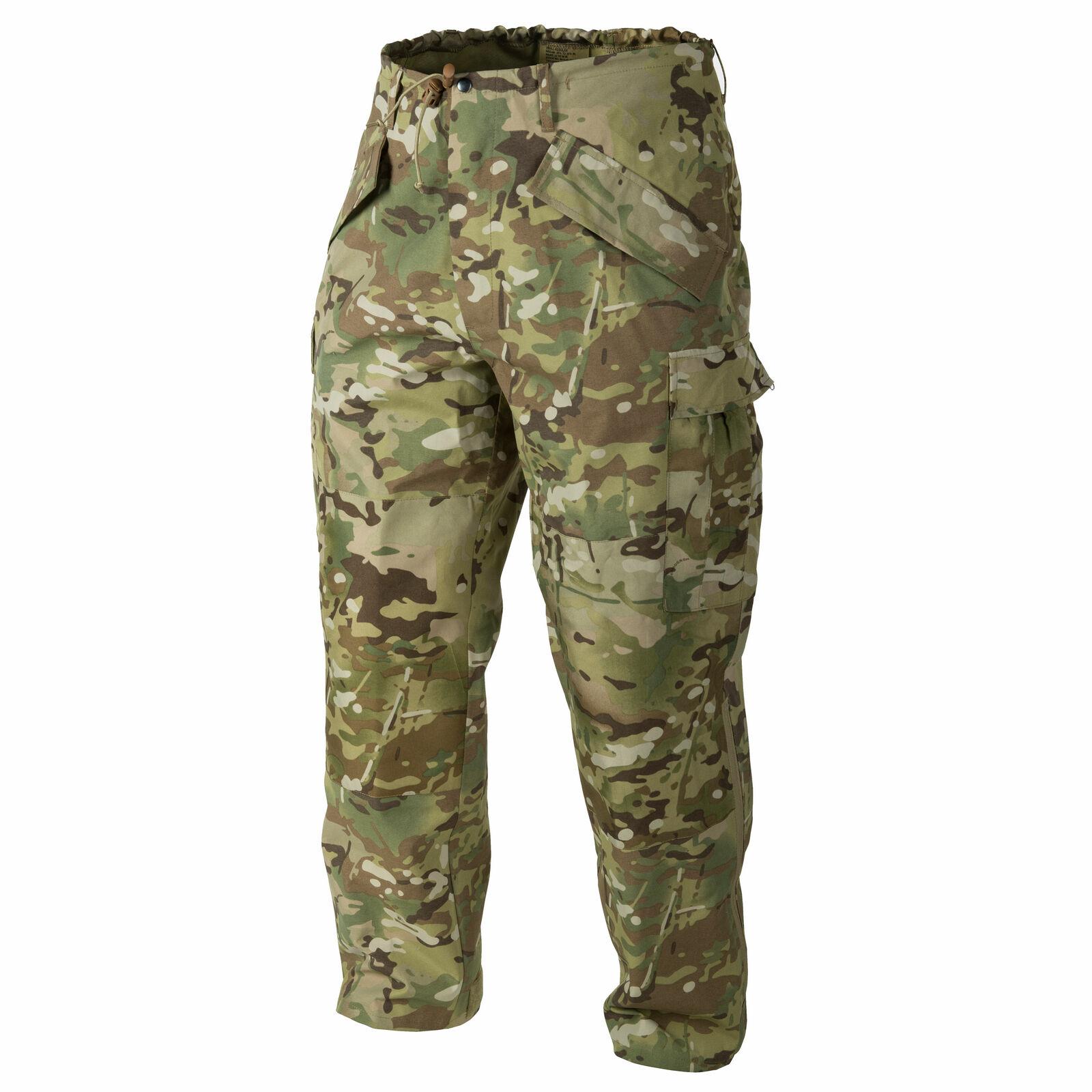 Helikon TEX US ECWCS genii Pantaloni Umidità Protezione Pioggia Pantaloni Trouser Camogrom