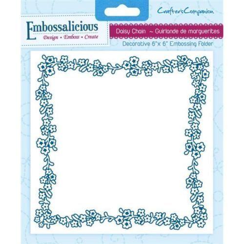 "Embossalicious Embossing folder 6/""x6/"" Scrapbooking Card Making"