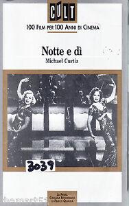 Notte-e-di-1946-VHS-Cult-100-Video-Michael-Curtiz-Cary-Grant-rara
