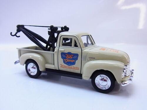 56309 Welly 1953 Chevrolet Tow Truck beige Modellauto 1:40 NEU