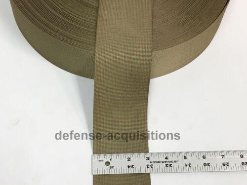 3 INCH Mil Spec Military Webbing MIL-W-17337 COYOTE Type 2 Per Yard