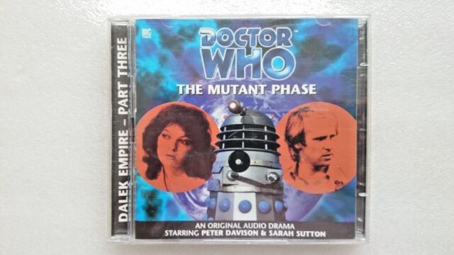 The Mutant Phase by Nicholas Briggs (CD-Audio, 2000) - Peter Davidson
