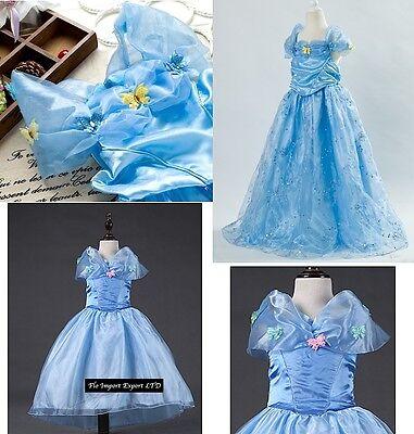 Dress up Princess Cinderella Costumes 567002-4 Vestiti Carnevale Cenerentola