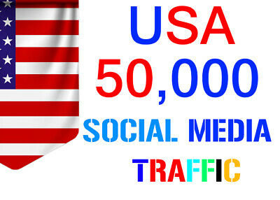 Unlimited Organic Social Web Traffic Website Traffic Country Targeted 1 Month